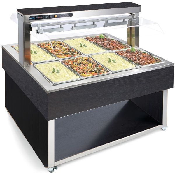 Bain Marie TR-RED SQUARE 8-1
